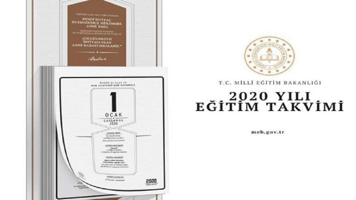 Meb Den 2020 Yili Egitim Takvimi Ve Uygulamasi Cumhuriyet